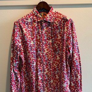 Robert Graham Dress Shirt Medium